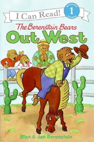 9780060583545: I Can Read Book 1 THE BERENSTAIN BEARS OUT WEST (I Can Read Level 1)