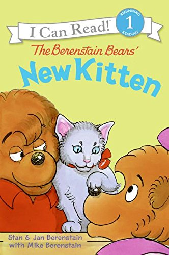 9780060583569: The Berenstain Bears' New Kitten (I Can Read! - Level 1 (Hardcover))