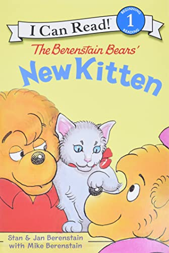 9780060583576: The Berenstain Bears' New Kitten (I Can Read Level 1)