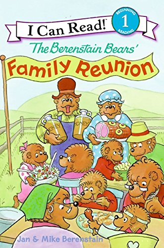 9780060583590: Berenstain Bears' Family Reunion, The (I Can Read Berenstain Bears - Level 1)