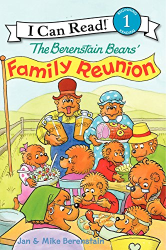 9780060583606: The Berenstain Bears' Family Reunion (I Can Read Level 1)