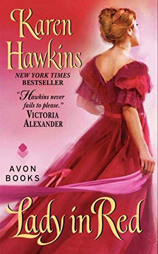 9780060584061: Lady in Red (Avon Historical Romance)