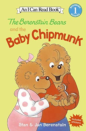 9780060584139: The Berenstain Bears and the Baby Chipmunk (I Can Read Level 1)