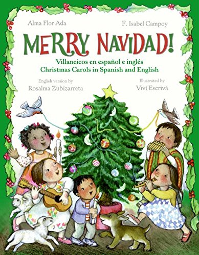 9780060584344: Merry Navidad!: Christmas Carols in Spanish and English/Villancicos en espanol e ingles