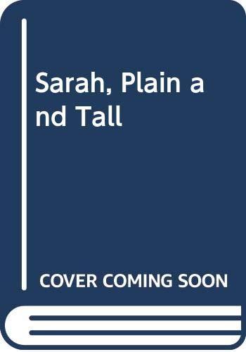 9780060584634: Sarah, Plain and Tall Low Price