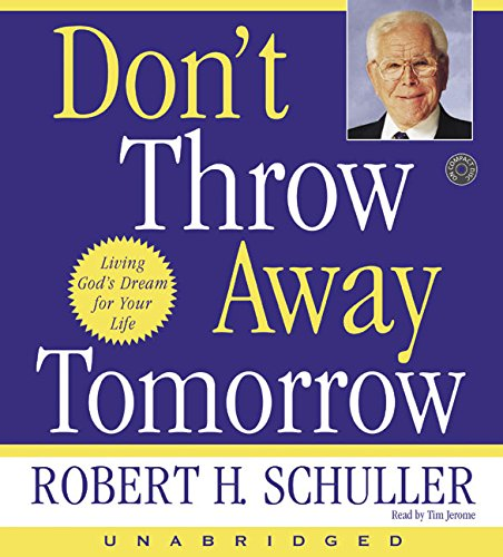 9780060585310: Don't Throw Away Tomorrow CD