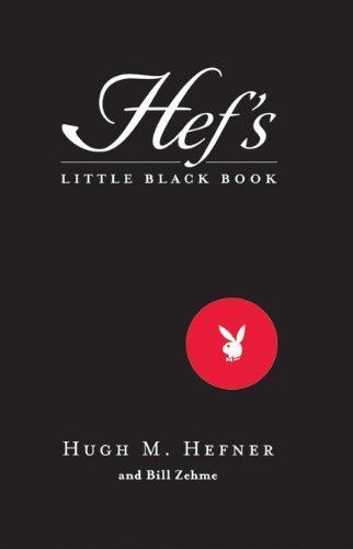 9780060585389: Hef's Little Black Book