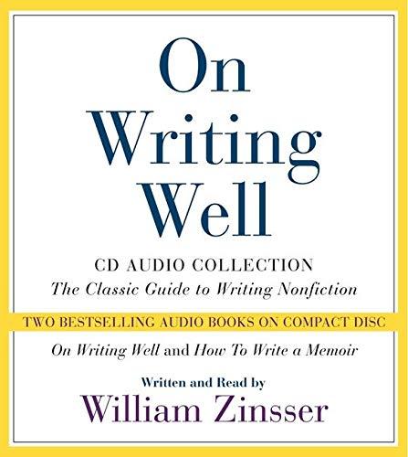 9780060586119: On Writing Well CD Audio Collection