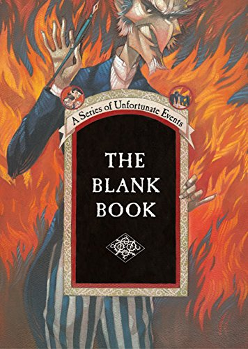 9780060586560: Series of Unfortunate Events: The Blank Book (A Series of Unfortunate Events)