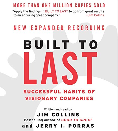 9780060589059: Built to Last CD: Successful Habits of Visionary Companies