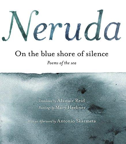 9780060591847: A la Orilla Azul del Silencio: Poemas frente al mar (Bilingual)