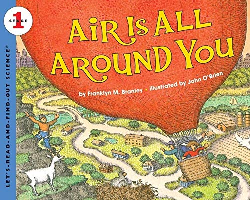 9780060594152: Air Is All Around You (Let's-Read-And-Find-Out Science: Stage 1)