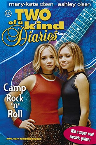 9780060595289: Camp Rock 'n' Roll (Two of a Kind #35)