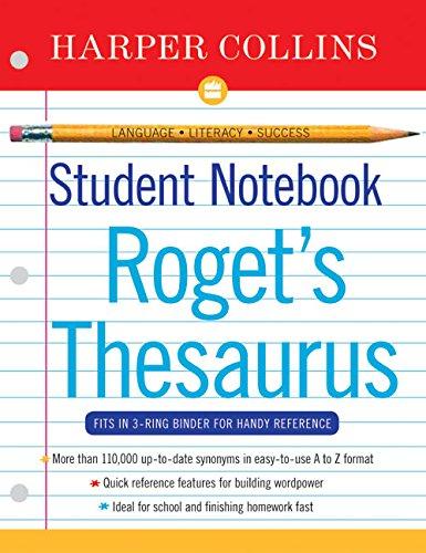 9780060595470: Harper Collins Student Notebook A-Z Thesaurus