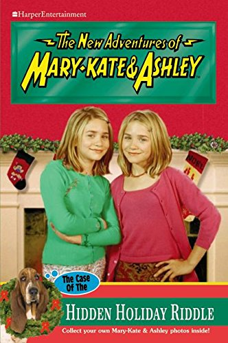 9780060595944: New Adventures of Mary-Kate & Ashley #44: The Case of the Hidden Holiday Riddle: The Case of the Hidden Holiday Riddle