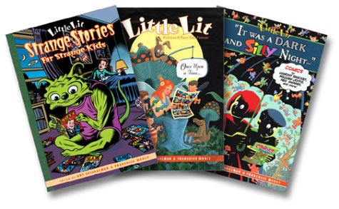 9780060598266: Little Lit Three-Book Collection (Strange Stories for Strange Kids; Folklore and Fairytale Funnies; It Was a Dark and Silly Night)