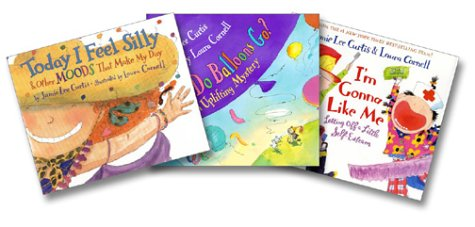 9780060598297: Jamie Lee Curtis Picture Book Collection (Today I Feel Silly, Where Do Balloons Go, I'm Gonna Like Me)