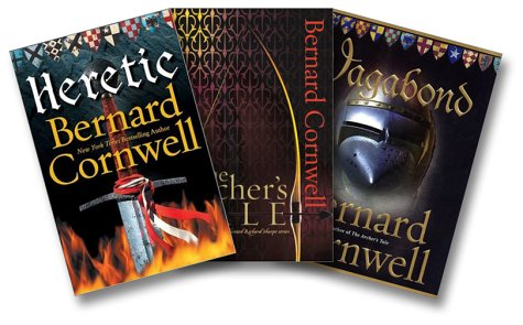 9780060598341: Cornwell's Thomas of Hookton Three-Book Set (Heretic, The Archer's Tale, Vagabond)