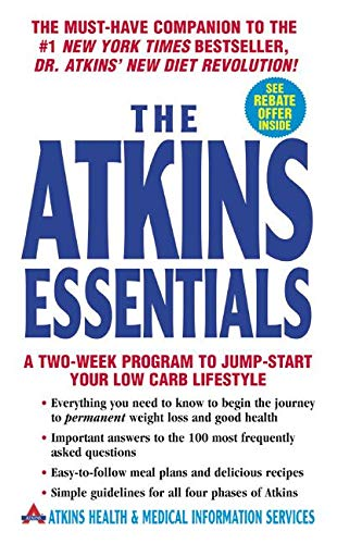 9780060598389: The Atkins Essentials: A Two-Week Program to Jump-start Your Low Carb Lifestyle