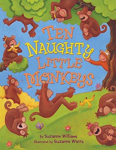 9780060599041: Ten Naughty Little Monkeys