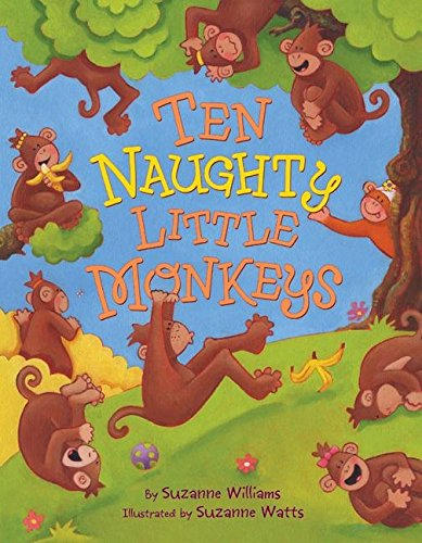9780060599041: Ten Naughty Little Monkeys