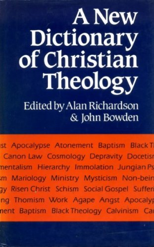9780060602376: Dictionary of Christian Theology