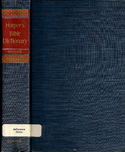 9780060603670: Harper's Bible Dictionary