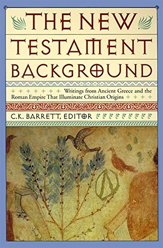 9780060608811: New Testament Background: Selected Documents: Revised and Expanded Edition