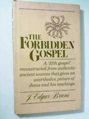 9780060611491: The forbidden Gospel