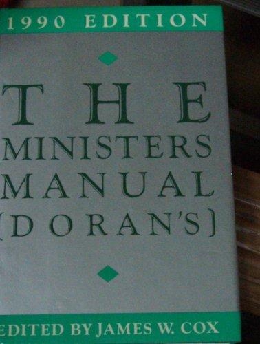 Minister's Manual (Doran's): Cox, James W.