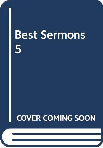 Best Sermons 5: Editor-James W. Cox