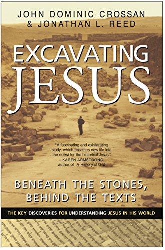 9780060616342: Excavating Jesus: Beneath the Stones, Behind the Texts