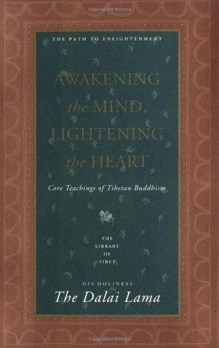 9780060616885: Awakening the Mind, Lightening the Heart : Core Teachings of Tibetan Buddhism