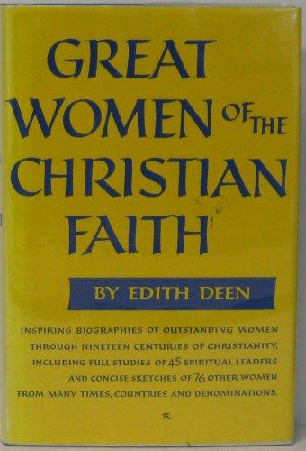 9780060618490: Great Women of the Christian Faith