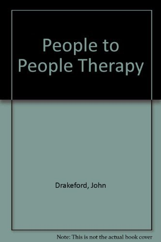 9780060620622: People to people therapy