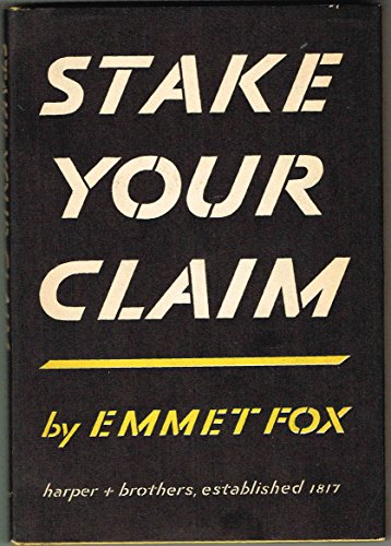 Stake Your Claim: Fox, Emmet