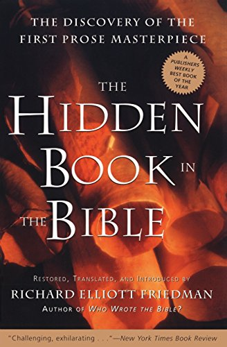 9780060630041: The Hidden Book in the Bible: Restored, Translated, and Introduced by Richard Elliott Friedman