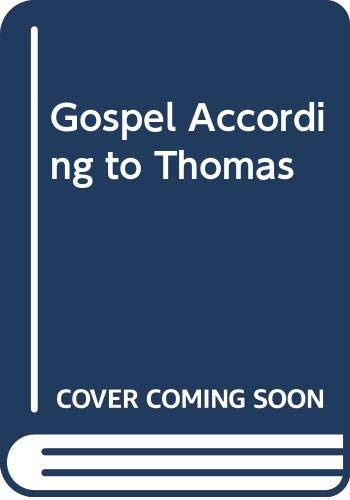 9780060635091: Gospel According to Thomas
