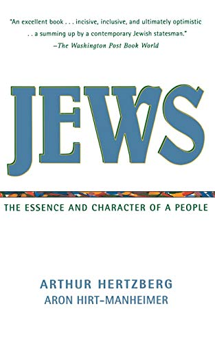 9780060638351: Jews: The Essence and Character of a People