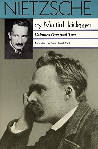 9780060638412: Nietzsche, Vol. 1: The Will to Power as Art, Vol. 2: The Eternal Recurrance of the Same
