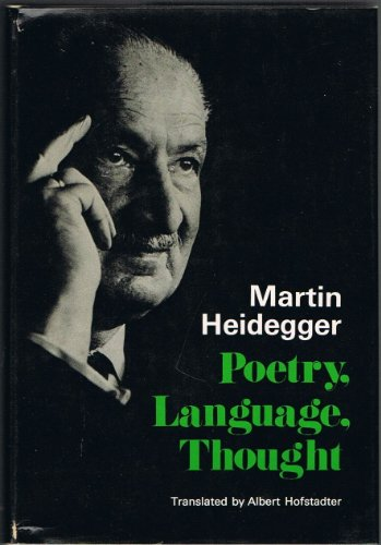 9780060638481: Poetry, Language, Thought