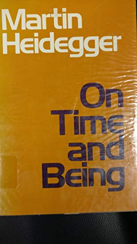 9780060638559: On time and being
