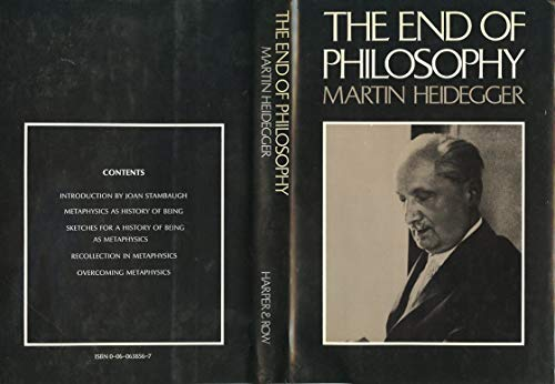 9780060638566: The End of Philosophy