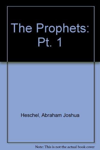 9780060638900: The Prophets: Pt. 1
