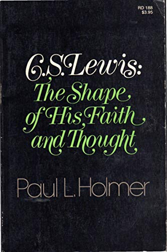 9780060640040: C. S. Lewis: The shape of his faith and thought