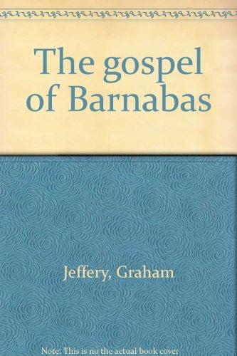 9780060641276: The gospel of Barnabas