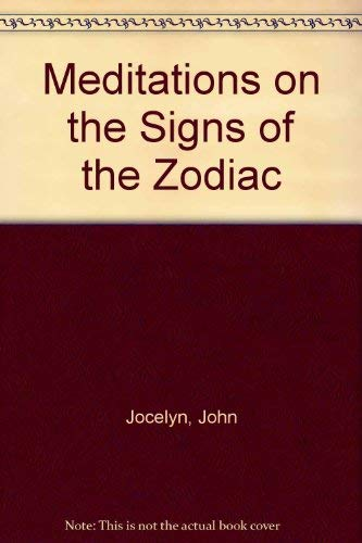 9780060641405: Meditations on the Signs of the Zodiac (Harper's Ministers Paperback Library)