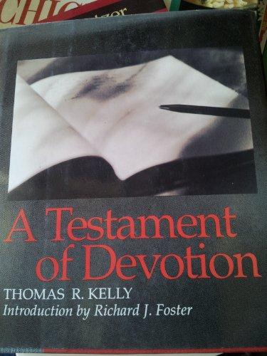 9780060642129: A Testament of Devotion