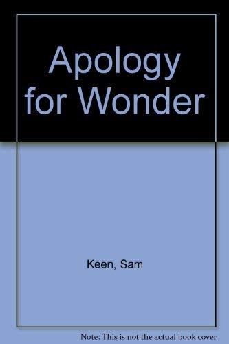 9780060642624: Apology for Wonder