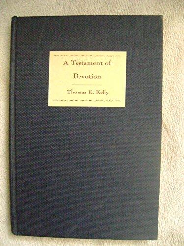 9780060643706: A Testament of Devotion